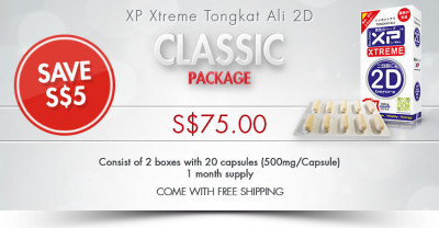 XP Xtreme Tongkat Ali 2D Classic Package