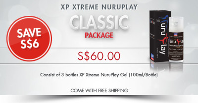 XP Xtreme Nuruplay Gel Classic Package