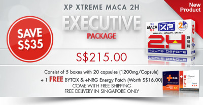 XP Xtreme 2H Maca Executive Package